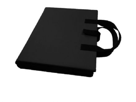 A4 Communication Book - Rigid Covers - Black